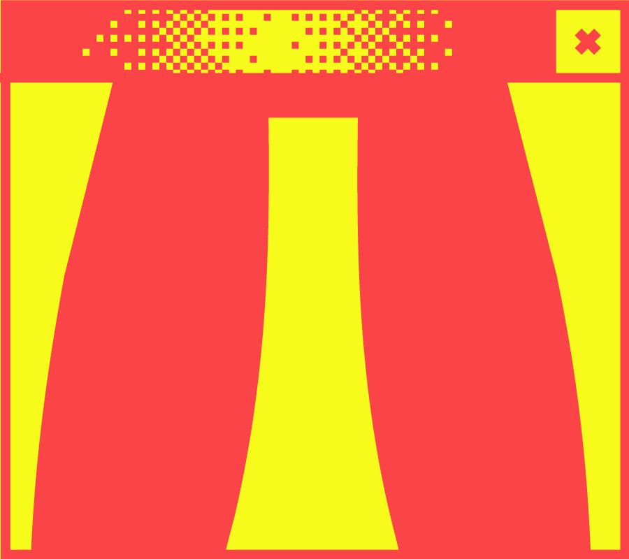 Bildschirmfenster mit dem Buchstaben w in der Mitte